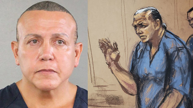 South Florida man who mailed pipe bombs to Trump opponents sentenced to 20 years
