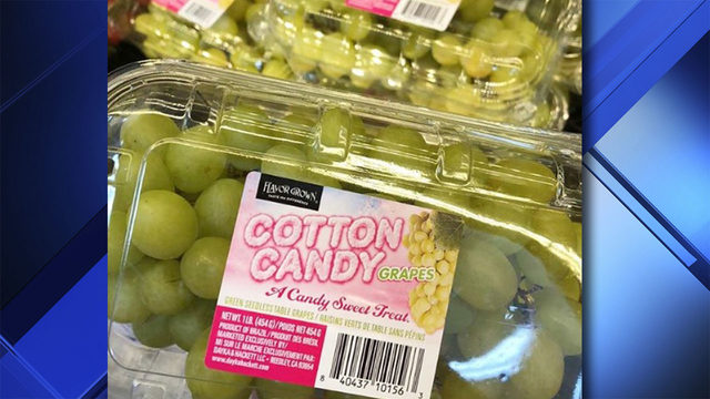 Cotton Candy grapes are back in South Florida