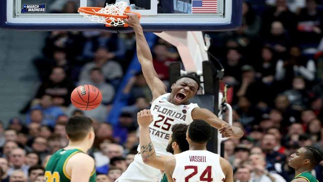 Kabengele, Mann lead Seminoles over Vermont in NCAA tournament
