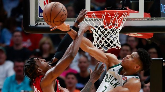 Antetokounmpo scores 27 as Bucks beat Heat 116-87