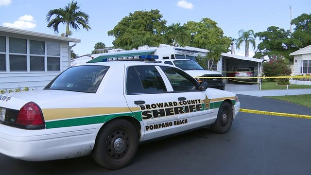 Deputies investigate double homicide in Pompano Beach
