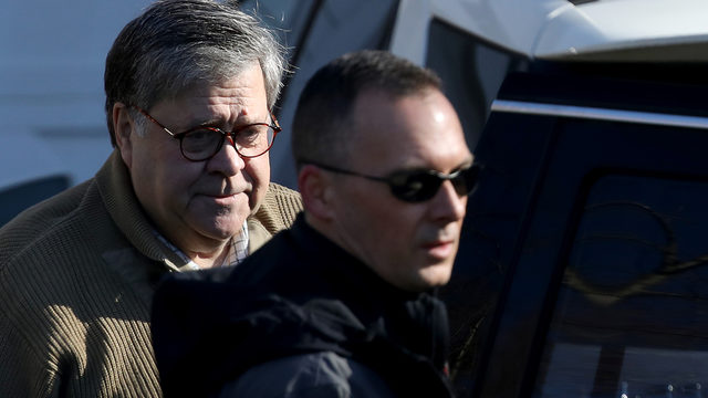 Barr scours Trump-Russia report to see how much to open