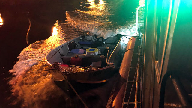Boat collision sends fishermen diving to safety into Dania Beach canal