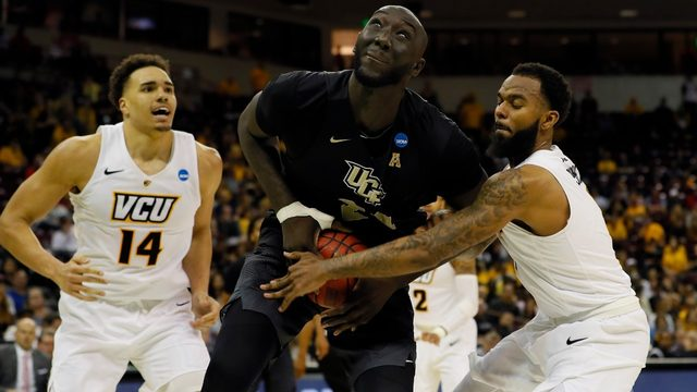 Tall Fall leads UCF to first-ever win in NCAA tournament