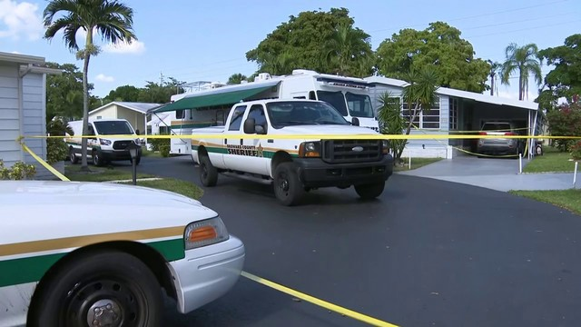 Officers investigate double homicide in Pompano Beach home