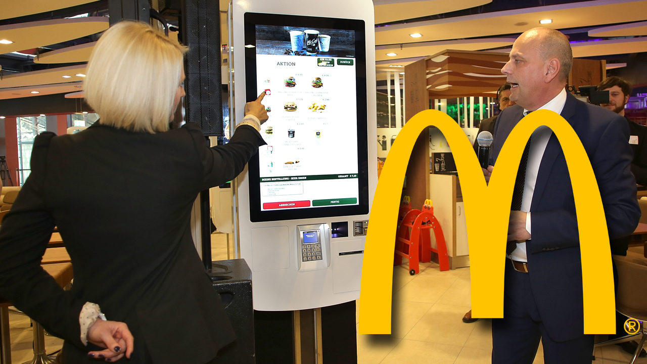 Fecal matter found on McDonald's touchscreens