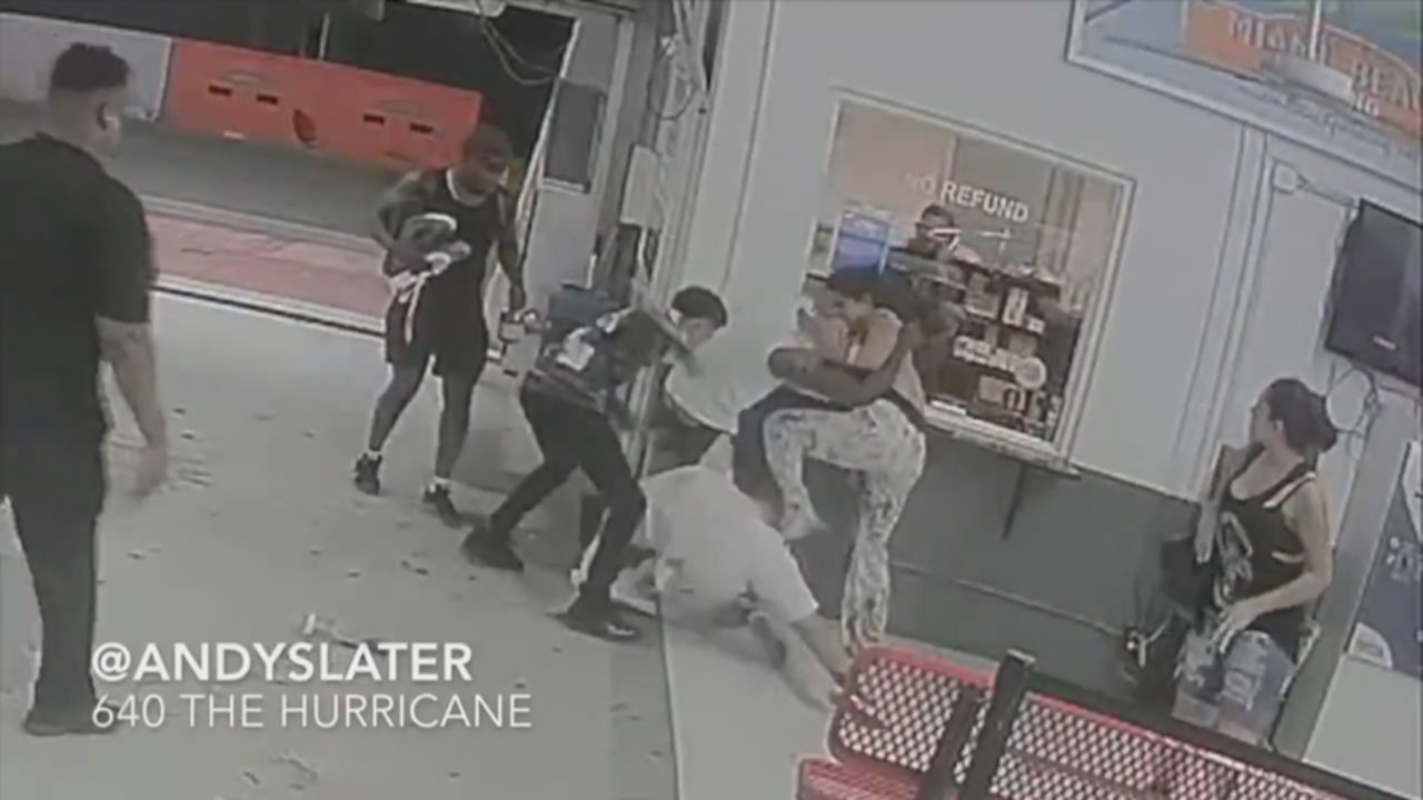 Video shows boxer Shakur Stevenson brawling in Miami Beach
