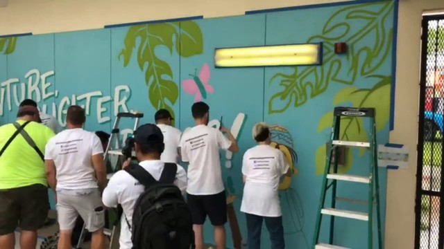 Mr. Awesome continues giving back in South Florida through foundation