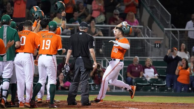 Hurricanes No. 4 seed in ACC baseball tournament