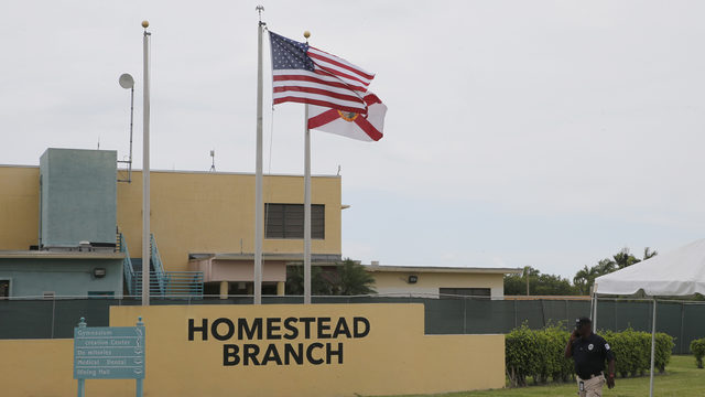 Wilson-led delegation tours Homestead migrant facility