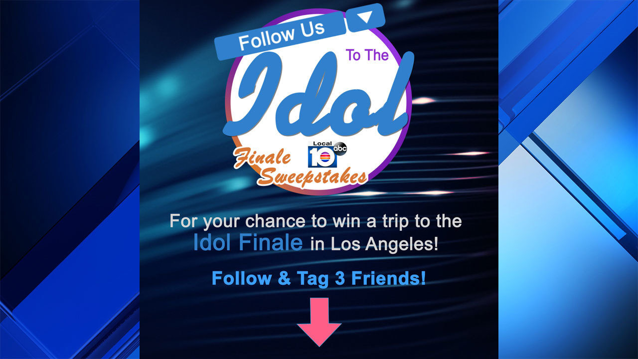 Local 10's 'Follow Us to the Idol Finale' rules