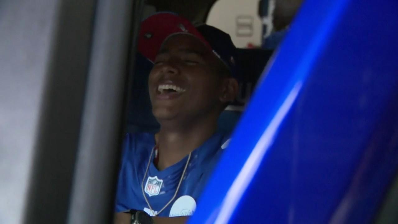 Teen Sports Fan Battling Brain Cancer Gets Hummer Tricked