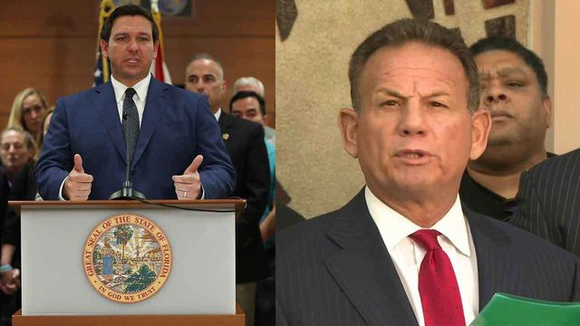 Florida Senate hearing on fate of suspended sheriff begins