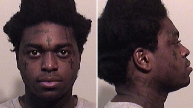South Florida rapper Kodak Black arrested on weapons, drug charges