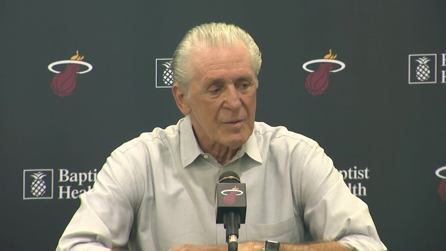 Pat Riley says he's staying in Miami