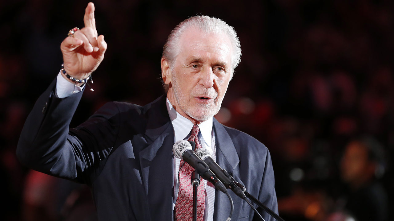 92caa3fb920 Lakers eyeing Heat s Pat Riley to run team