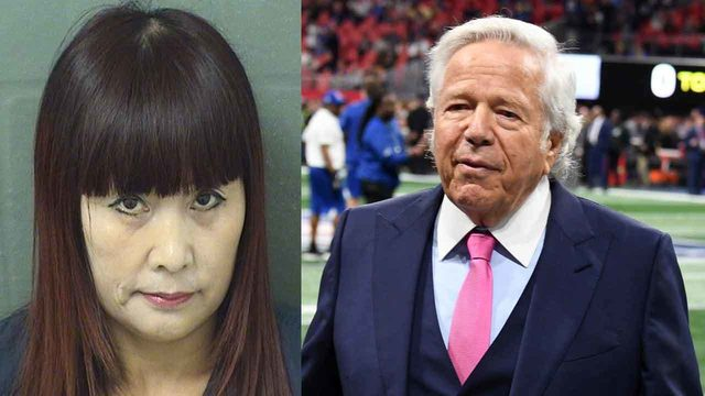 Masseuse alleged to have performed sex acts on Robert Kraft arrested