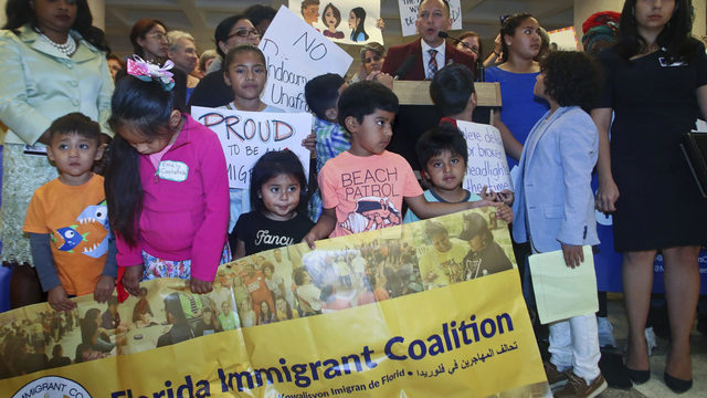 Florida House debates bill banning 'sanctuary city' policies