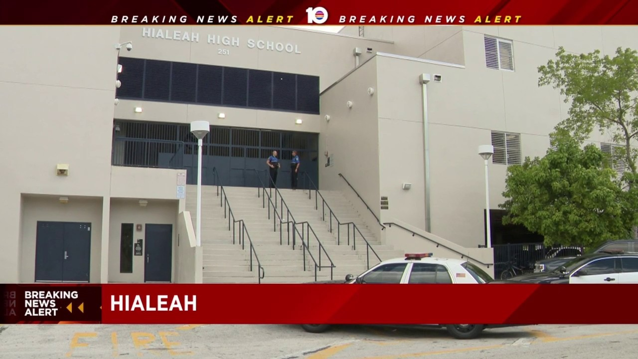 No weapon found at Hialeah Senior High School, police say