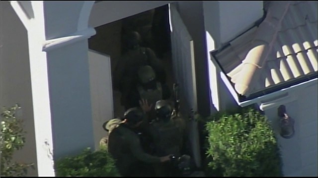 SWAT team enters home in Miramar while executing search warrant