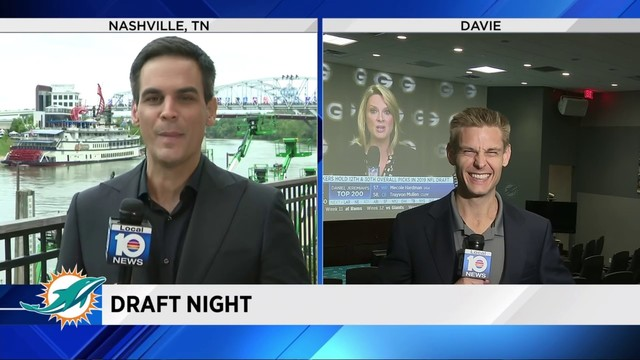 Local 10's Will Manso, Clay Ferraro give predictions ahead of NFL draft