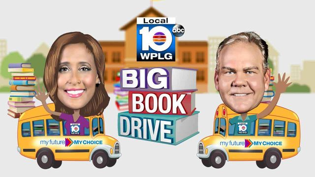 Students celebrate fourth My Future My Choice Big Book Drive in South Florida