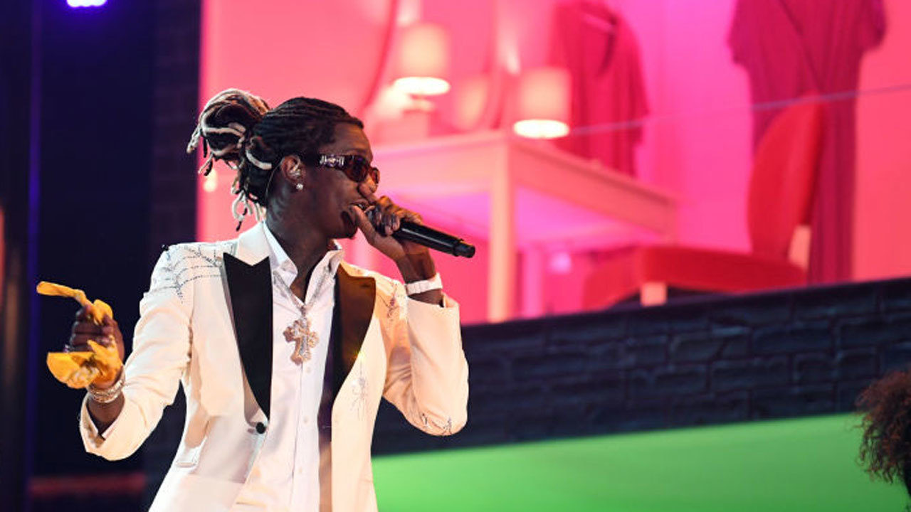 Rapper Young Thug linked to party bus shooting in Miami-Dade