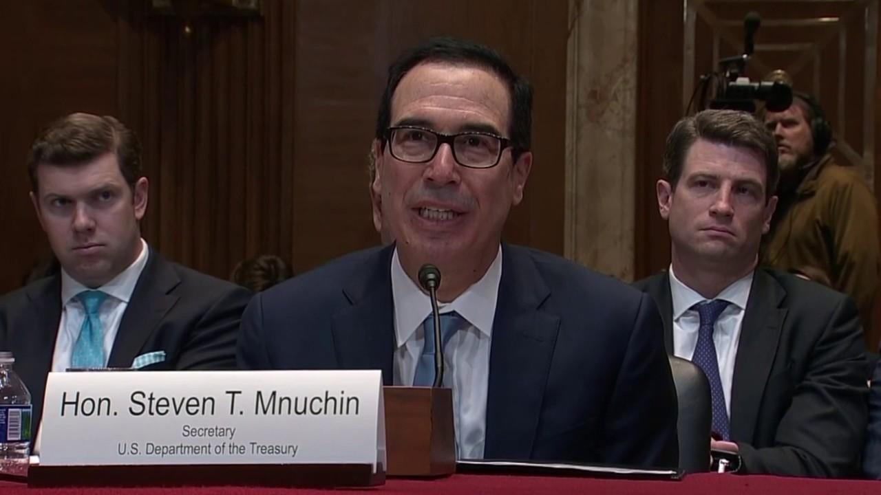 Hasil gambar untuk Mnuchin rejects Democrats' subpoena for President Trump's tax returns