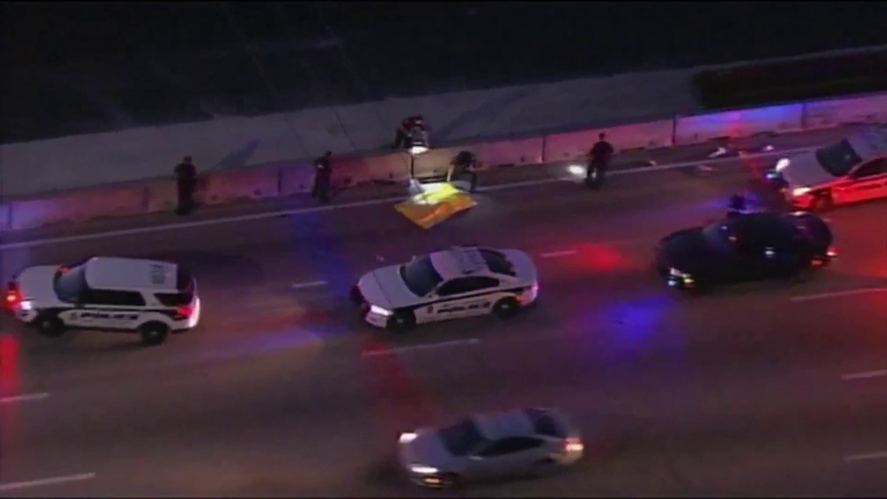 Man killed while walking along I-95 in Fort Lauderdale