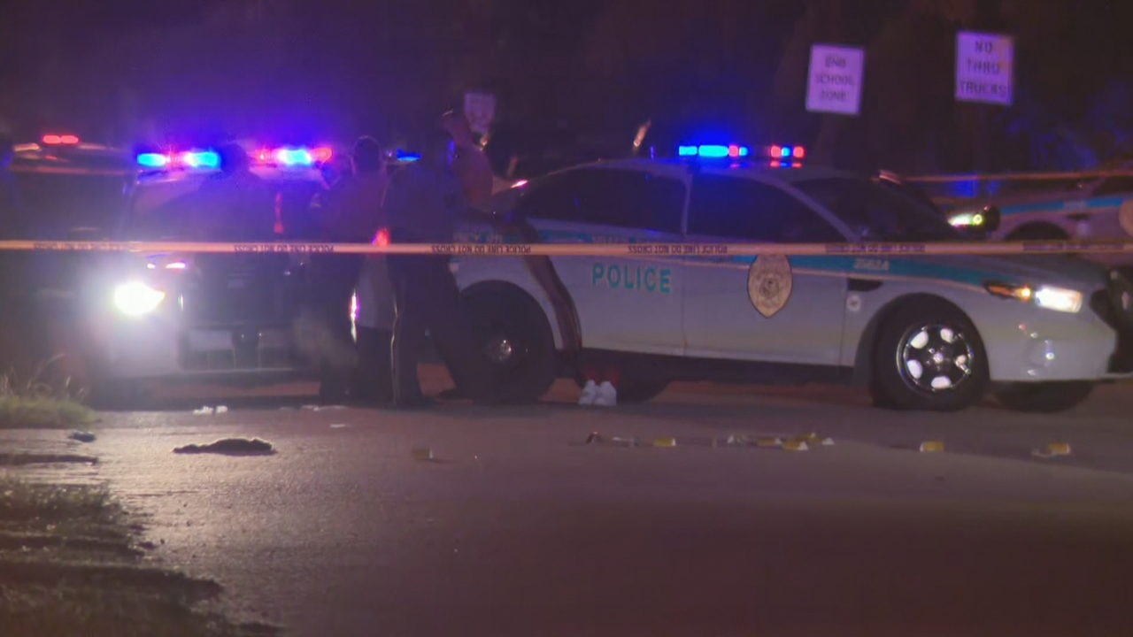 Police investigate officer-involved shooting in northwest Miami-Dade