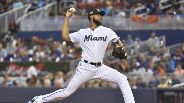 Alcantara pitches 2-hitter, Miami beats reeling Mets 3-0