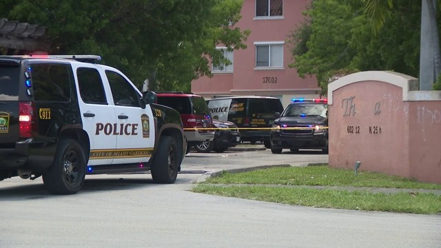 Stepfather, stepson wounded in shooting in Miami Gardens