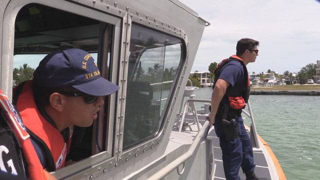 How the Coast Guard keeps boaters safe along the Florida Keys
