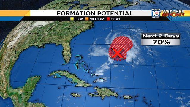 Disturbance could become tropical depression ahead of hurricane season