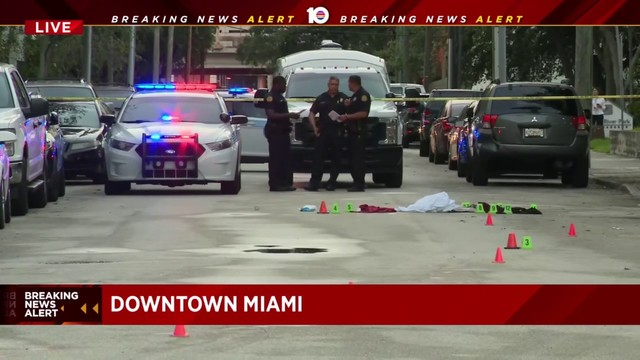 Woman found stabbed near church in downtown Miami