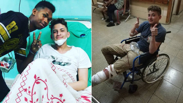 South Florida teens hurt in Cuban crash arrive home