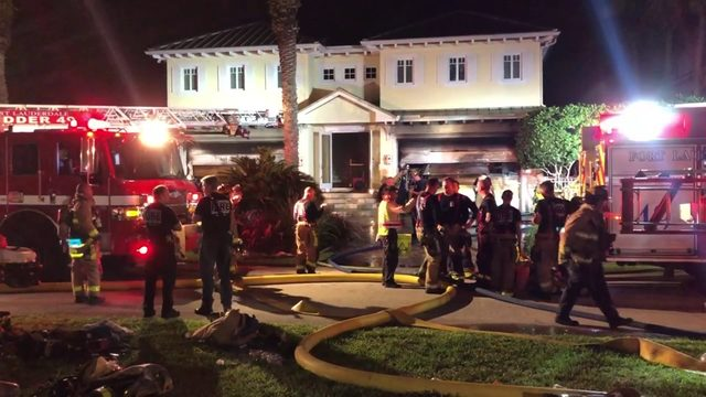 Million-dollar home, garage full of exotic cars go up in flames