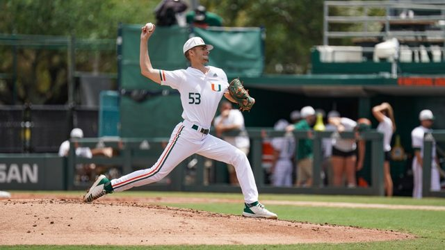Van Belle to start for Hurricanes in ACC tournament opener