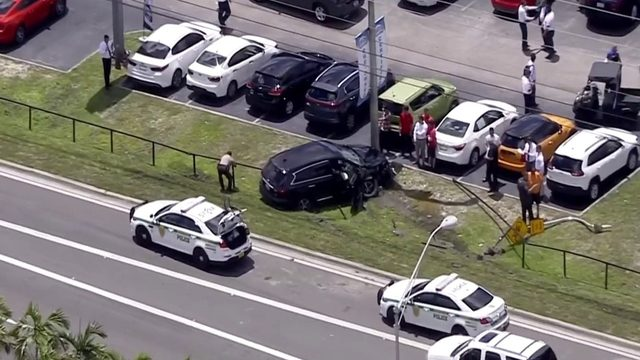 Suspect in custody after apparent abduction in northwest Miami-Dade