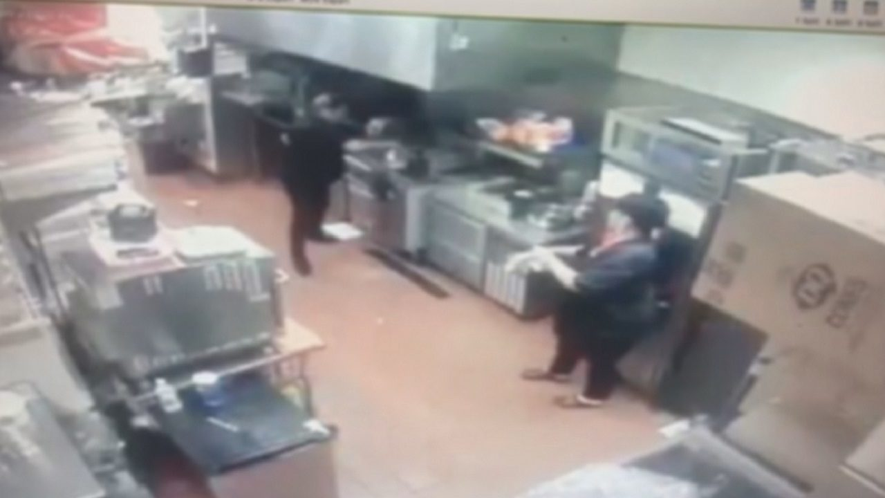 Dairy Queen manager beaten after throwing pot of hot grease
