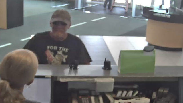 FBI searching for Fort Lauderdale bank robbery suspect