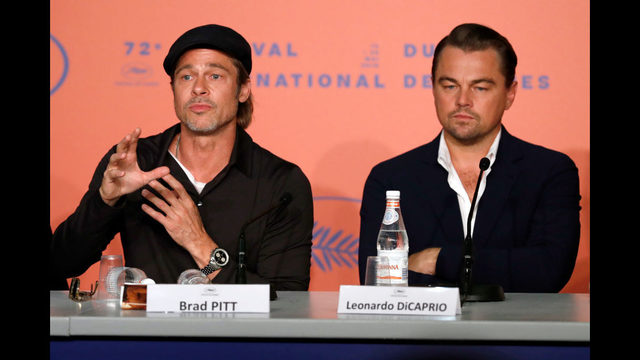 Photos: Brad Pitt and Leonardo DiCaprio at Cannes Film Festival