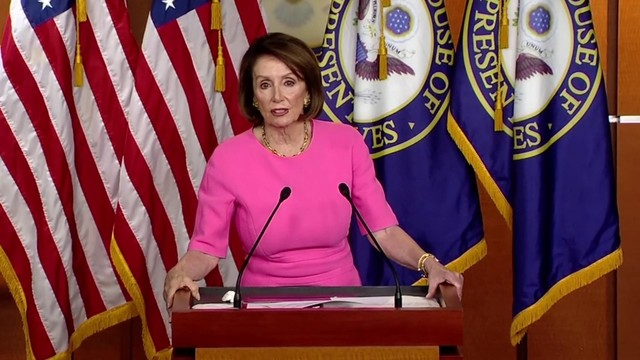 Insults flying, Pelosi hits Trump's fitness, he fires back
