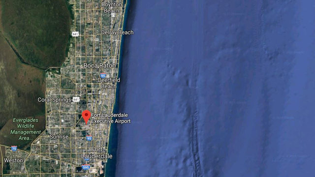 Cessna business jet crashes in ocean east of Fort Lauderdale
