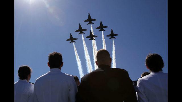 Photos: U.S. Naval Academy graduation ceremony