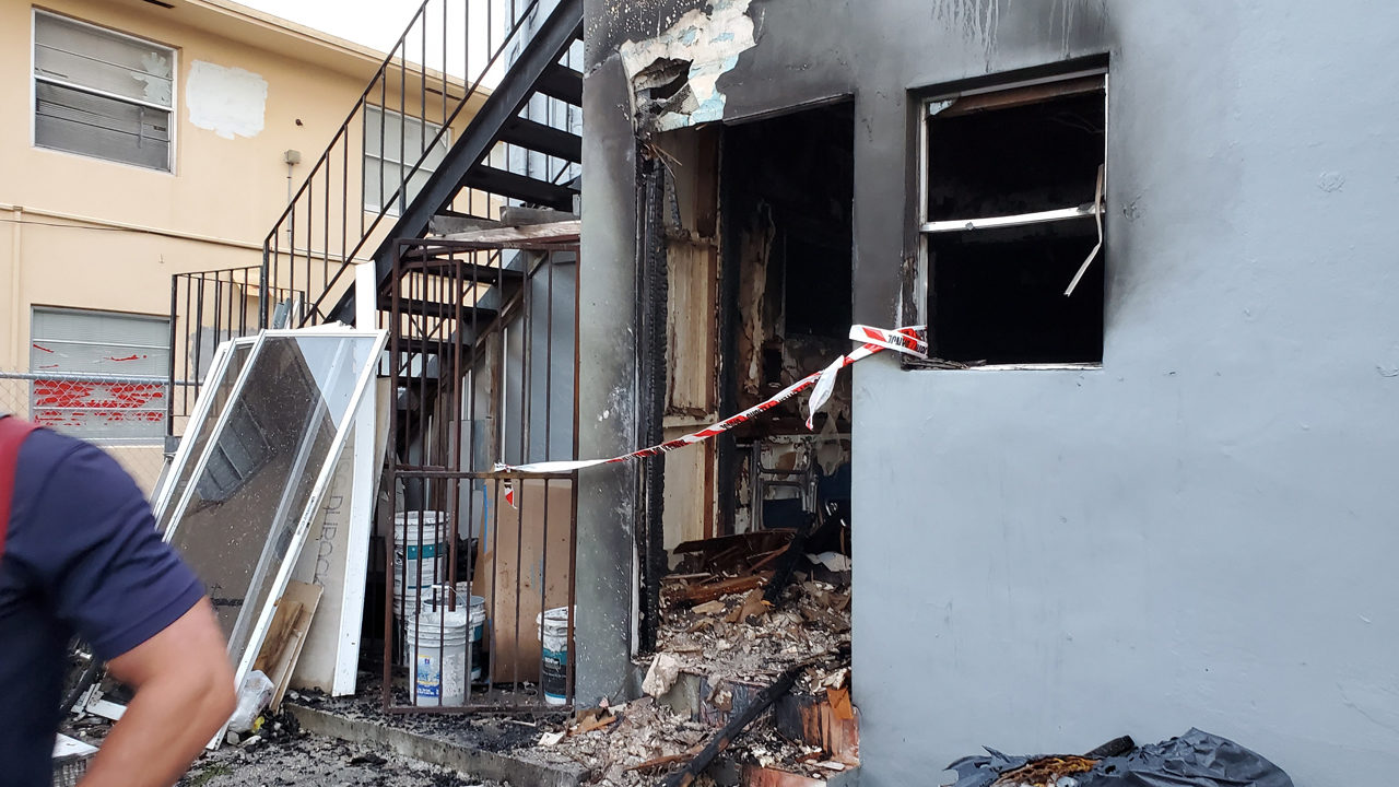 Apartment building fire in Little Havana leaves 11 without homes