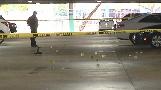 1 dead, 3 wounded after shootout at Fort Lauderdale parking garage