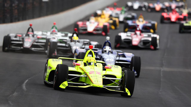 Pagenaud wins his first Indy 500
