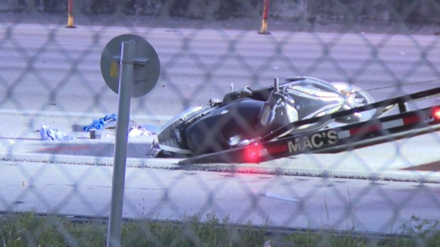 Motorcyclist dead after wreck on Interstate 95