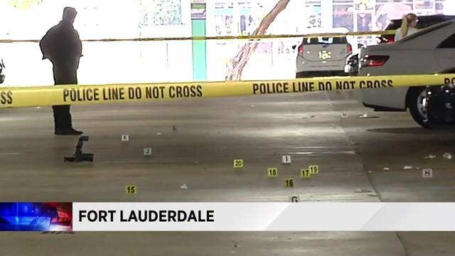 Garage shooting in Fort Lauderdale